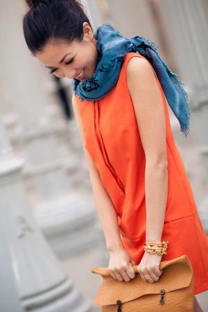 shiftdresswscarf